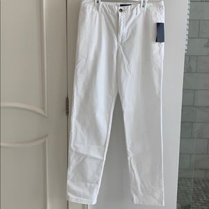 Ralph Lauren boys white pants